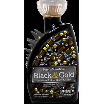 Крем для загара в солярии Devoted BLACK & GOLD, 400 мл