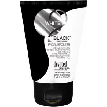 Крем для солярия Devoted White 2 Black Facial Bronzer, 89 мл